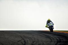 GP FÖR GP ARAGON MOTO Valentino Rossi Royaltyfria Foton