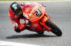 GP 2015 FÖR GP CATALUNYA MOTO - MOTO 3 FRANCESCO BAGNAIA Royaltyfri Foto