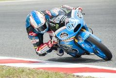 GP 2015 FÖR GP CATALUNYA MOTO - NAVARRO FÖR MOTO 3 RIDER JORGE Royaltyfria Foton