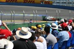 GP F1 Valencia 22/08/2009 Imágenes de archivo libres de regalías