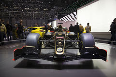 GP Formule 1 Auto 2011 van Lotus Renault Stock Foto's