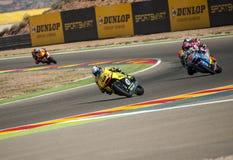 GP GP ARAGON MOTO MOTO 2 RIDER ALEX RINS Royalty-vrije Stock Afbeeldingen