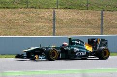 GP Montmelo F1 royalty-vrije stock foto