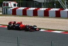 GP Montmelo F1 Royalty-vrije Stock Afbeeldingen