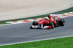 GP Montmelo F1 stock afbeelding
