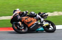 GP Motor Race at SIC. Taking this picture at Sepang International Circuit GPMotor race in year 2017 Stock Photography