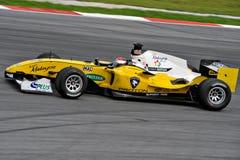gp-race för bil a1 Arkivfoton