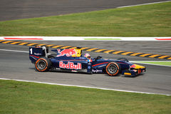 GP2 Series Formula driven by Pierre Gasly at Monza Royalty Free Stock Photography