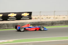 GP2 Asia. At Dubai, 1st round Royalty Free Stock Photography