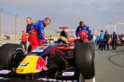 GP2 Asia. Starting grid, at GP2 Asia, round 1 & 2, in Dubai, Jan.08 Stock Images