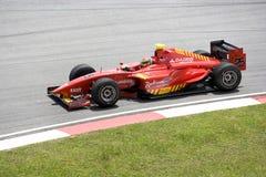 GP2 Asia Series 2009 - Fabrizio Crestani Royalty Free Stock Image