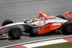GP2 Asia Series 2009 - Rodolfo Gonzalez Royalty Free Stock Photography
