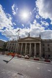 GPO Dublin. Building Exterior, Capital Cities, Dublin - Republic of Ireland, Famous Place, Leinster Province Royalty Free Stock Images