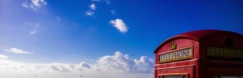 GPO-het strand van de telefoondoos Stock Foto's