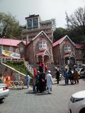 GPO murree mall road Pakistan. More than 100 year old the white city Royalty Free Stock Photography