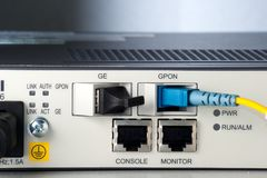 GPON Routers Royalty Free Stock Photography