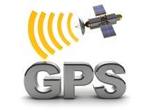 Gps标志 库存图片