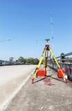 GPS调查,全球定位系统 图库摄影