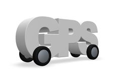 gps 免版税库存图片
