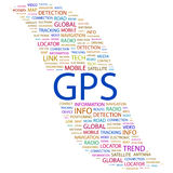 GPS. Fotografia de Stock Royalty Free