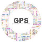 GPS. Photographie stock