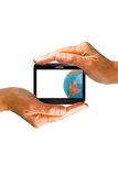 Gps. Abstract illustration of navigator system stock photos