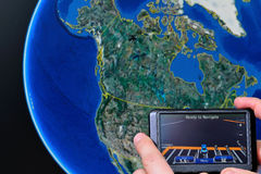 Gps america Stock Photos