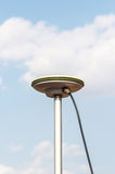 GPS Antenna surveying ,global position system Stock Image