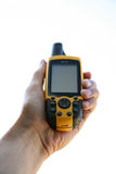 GPS Apparaat Stock Foto