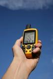 GPS Apparaat Stock Afbeeldingen