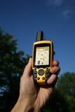 GPS Apparaat royalty-vrije stock afbeeldingen