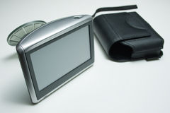 Gps apparaat met zuignap Royalty-vrije Stock Afbeelding
