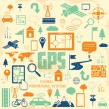 GPS Application Royalty Free Stock Photography