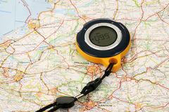 GPS Backtracker Stock Photography