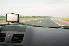 Gps car navigation Stock Photo
