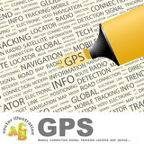 GPS. Stock Photography