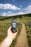 GPS de mano Foto de archivo