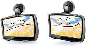 GPS device Royalty Free Stock Image