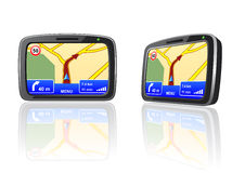 GPS device Royalty Free Stock Photos