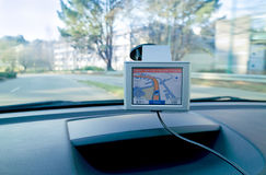 Gps do au de Conduite Foto de Stock Royalty Free