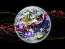 GPS  Earth Royalty Free Stock Photo