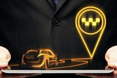 GPS en reisconcept Stock Afbeelding