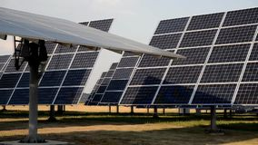 Self tracking rotary sun panels of solar power station