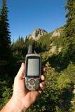 GPS Handheld fotos de stock royalty free
