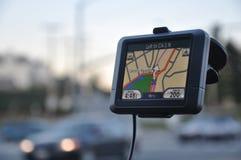 GPS i Monterey Ca Arkivbilder
