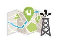 Gps icon design Royalty Free Stock Photo