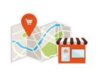 Gps icon design Stock Photo