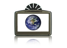 GPS isolated Stock Images
