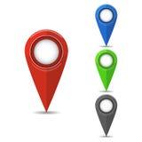 Map pointer flat icon. GPS location symbol. Vector illustration. GPS location symbol. Vector illustration. Flat design. Map pointer flat icon vector illustration