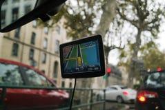 GPS lopp Arkivbild